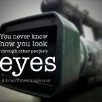 You never know how you look