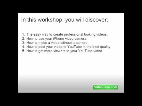 Presentation on YouTube Marketing to Small Business Owners