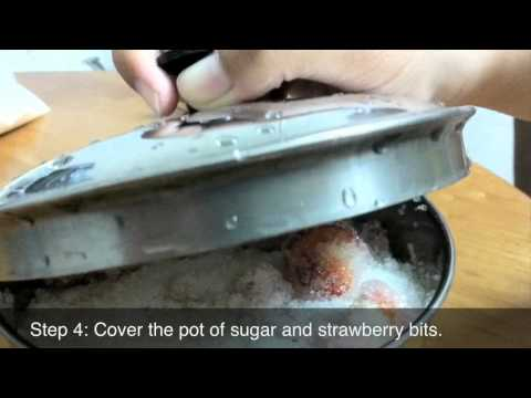 How to Make Strawberry Jam – Part 1