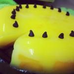 Mango Pudding Made at Home
