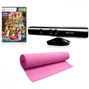 Exclusive Kinect Sensor with Kinect Adventures