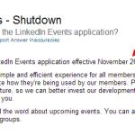 LinkedIn-Events-Shutdown