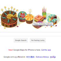 Google Birthday Wish