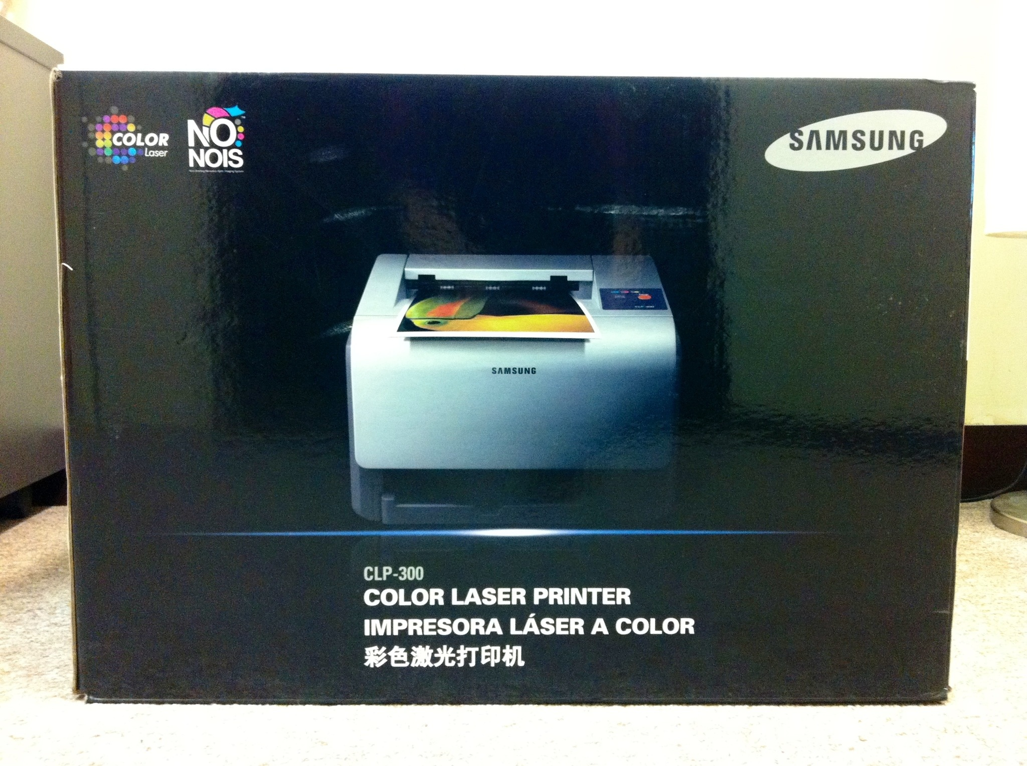 sold samsung color laser printer clp 300 unopened for sale s 200 adrian video image. Black Bedroom Furniture Sets. Home Design Ideas