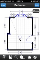 Using iPhone Apps to Draw a Floor Plan