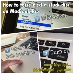 How to force eject a stuck disc from MacBook Pro