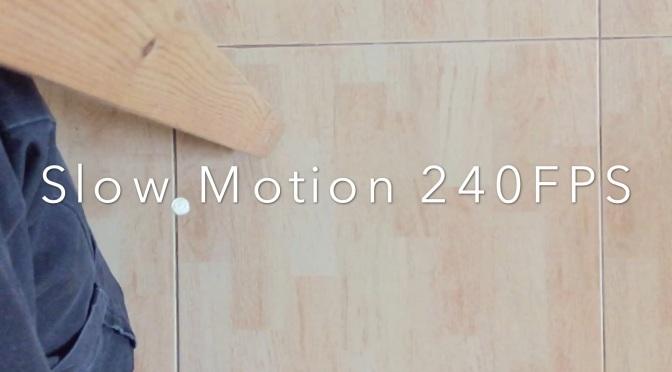 iPhone 6 Slow-mo Movie