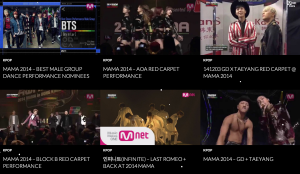 MAMA 2014 Performace