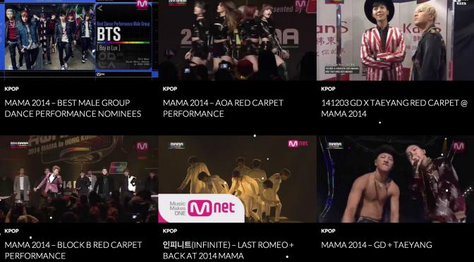 MAMA 2014 Korean Music Awards Live Performance
