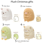 San-X Sumikko Gurashi Plushies for Christmas