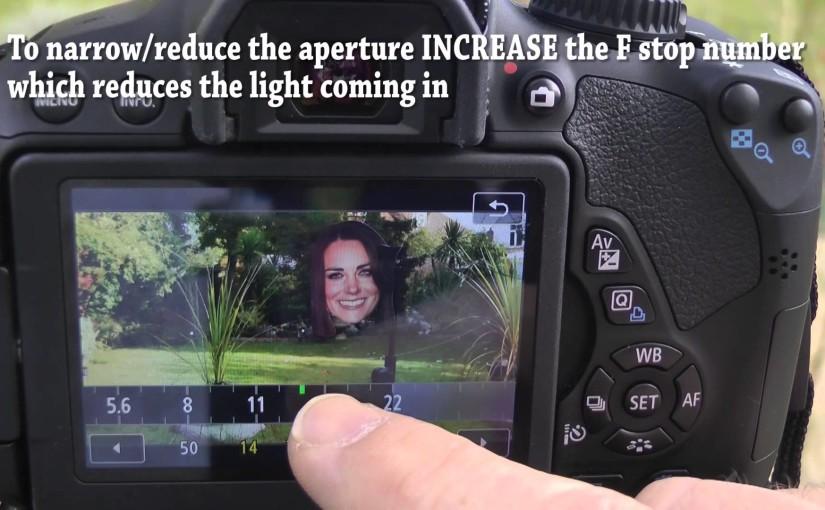 Canon 700D Movie Manual Exposure Setting