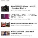 Nikon D7200 DSLR camera videos and reviews. #Nikon #D7200
