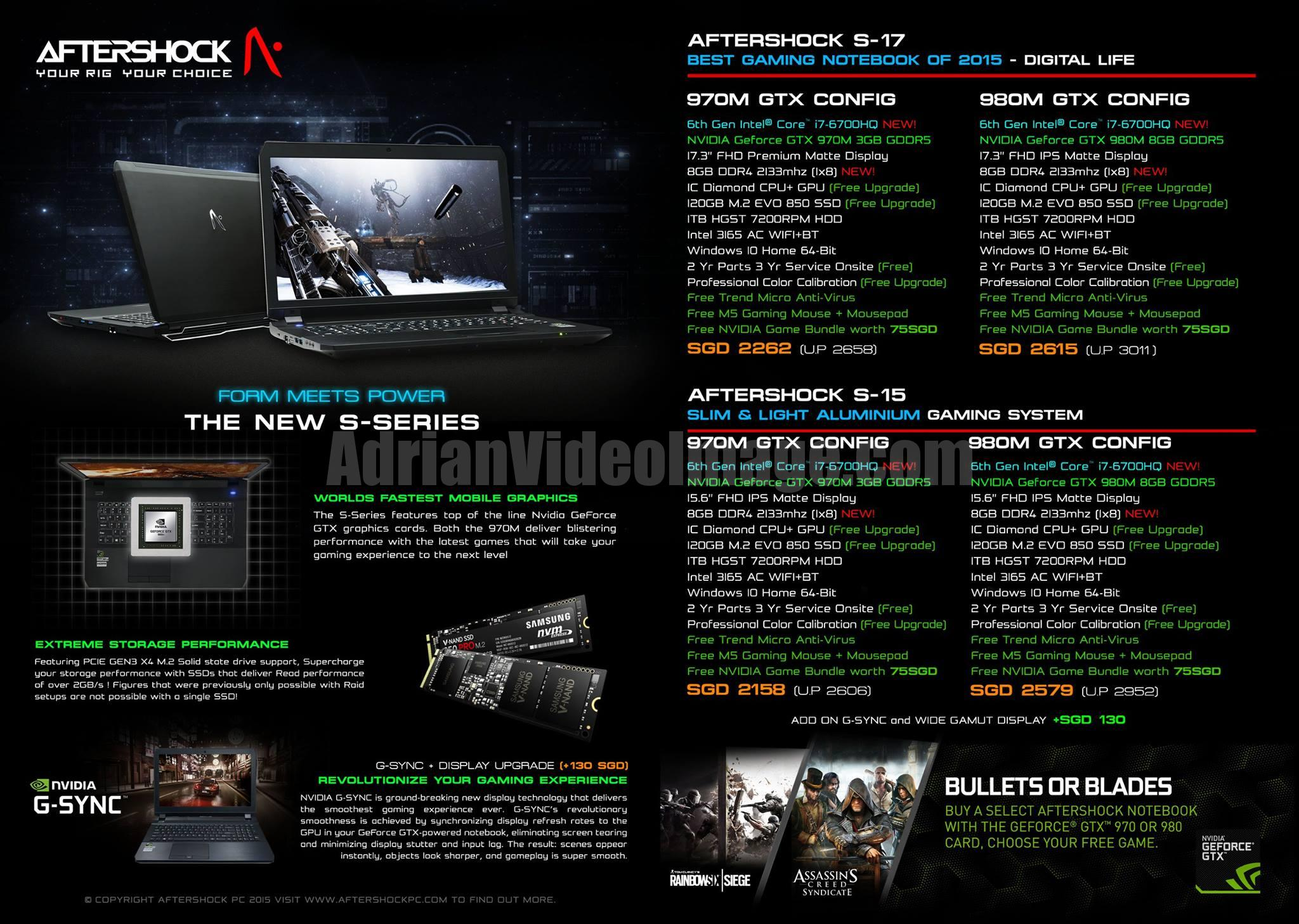AfterShock PC Promotion 2015 - pg2 - New S-Series