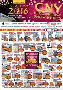 CNY Electronics Show @ EXPO | 19-21 Feb 2016