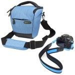 Evecase Blue SLR Camera Holster Case