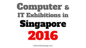 IT Fair in Singapore 2016