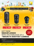 Nikon Singapore Promotion 2015 - Flyer 2 of 2