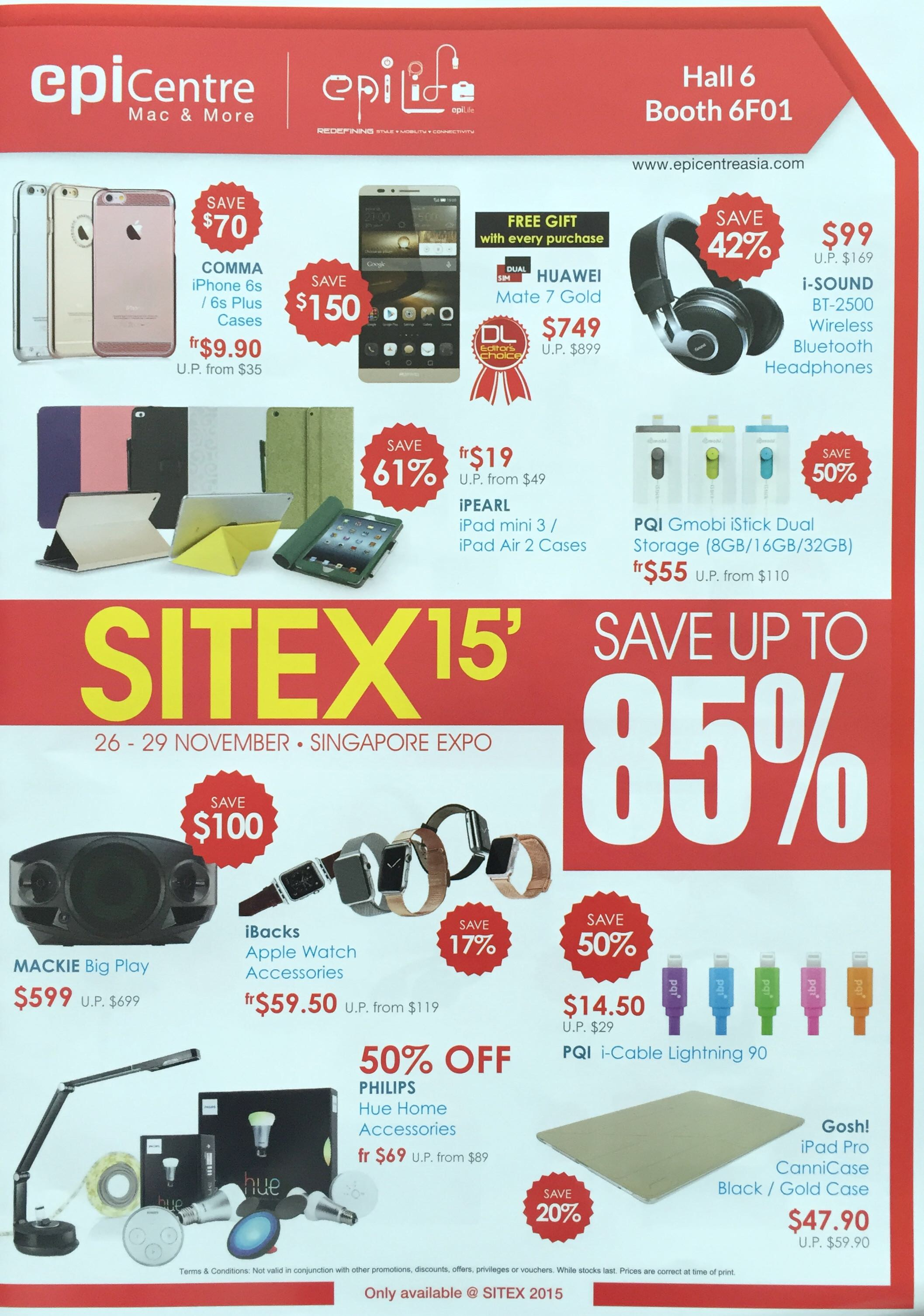 EPICENTRE @ SITEX 2015 - Save up to 85%