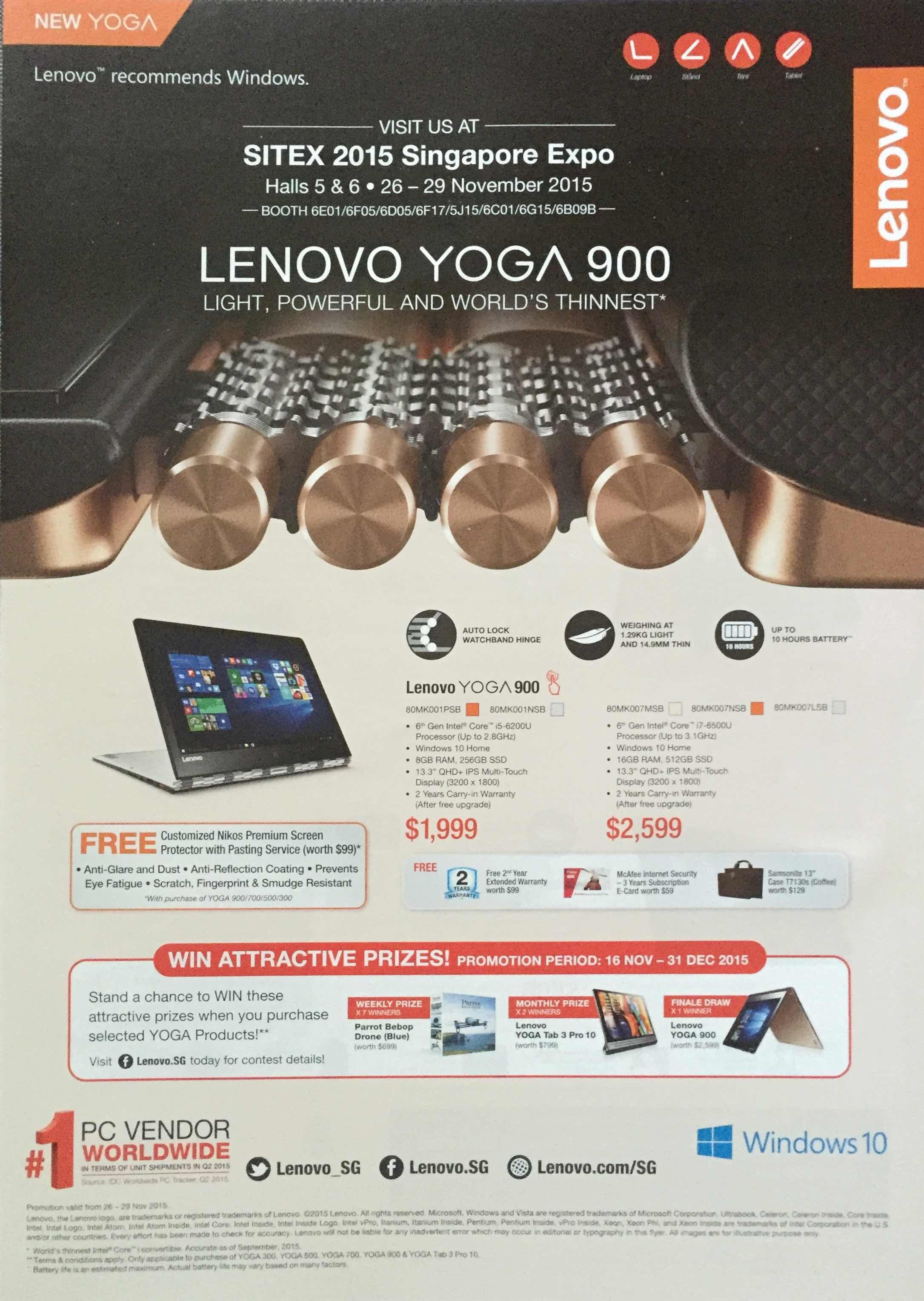 Lenovo SG - pg1 - New YOGA
