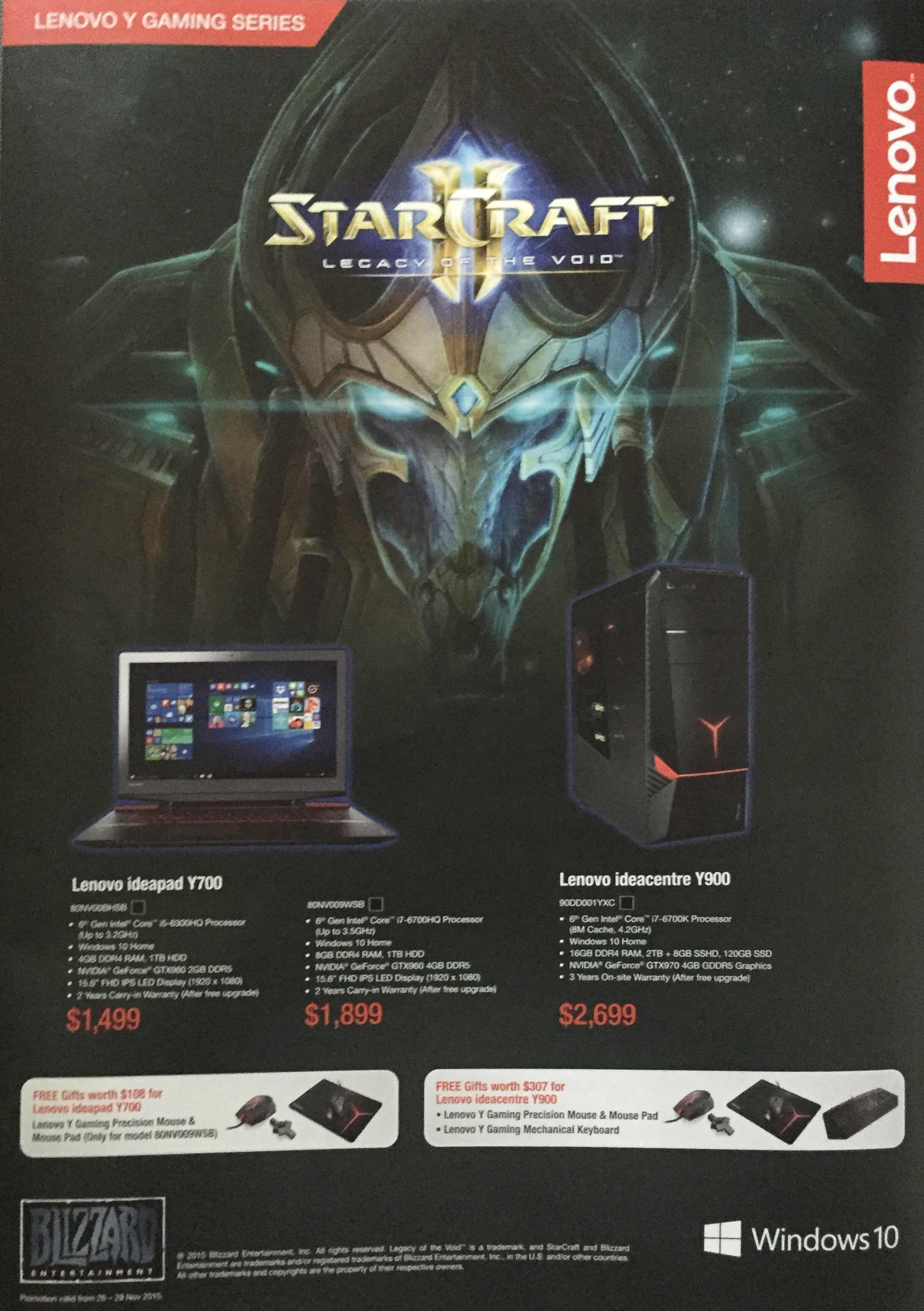 Lenovo SITEX 2015 - pg6 - LENOVO Y GAMING SERIES