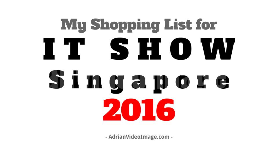 IT SHOW Singapore 2016