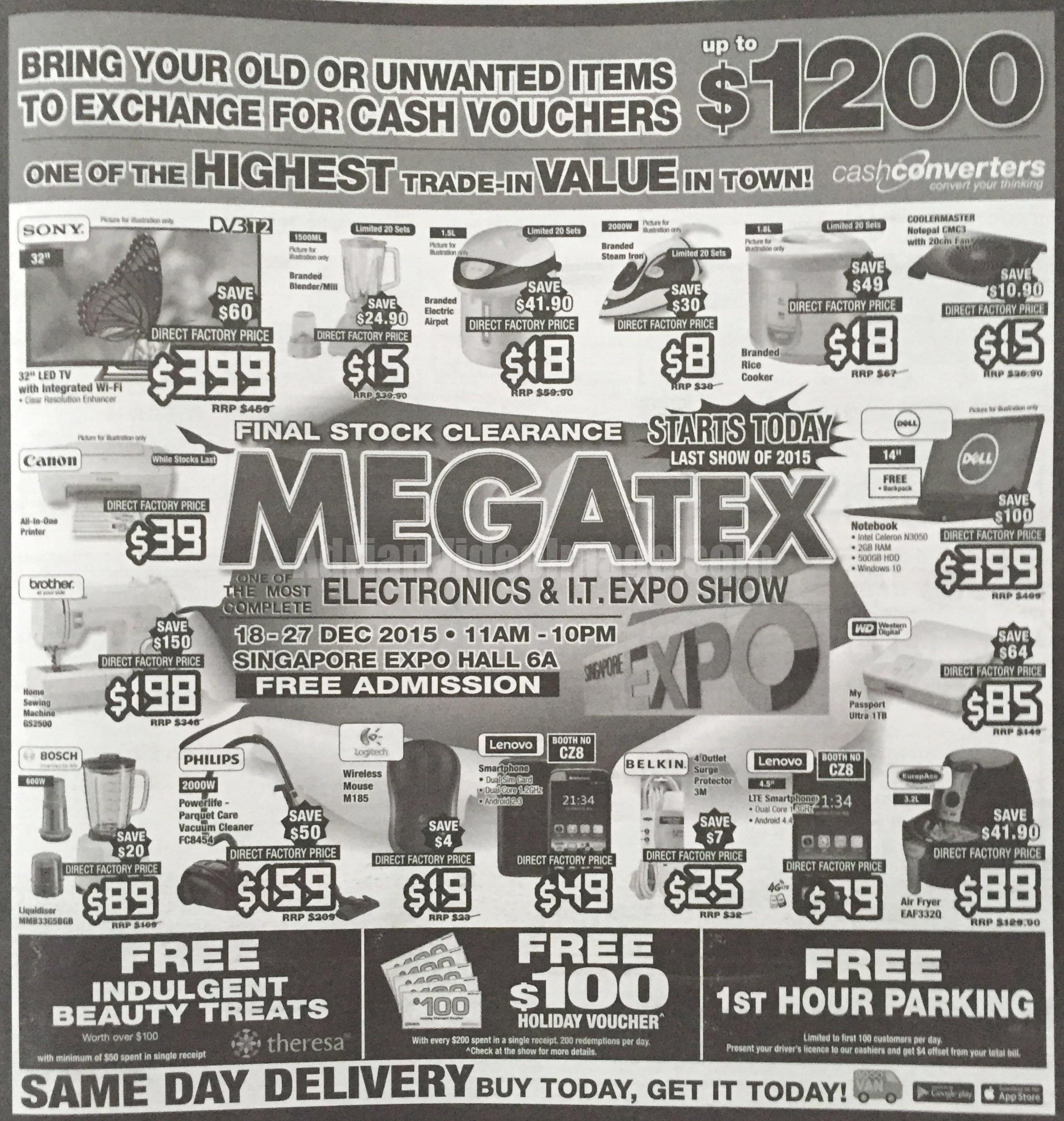 MEGATEX Electronics and IT Expo Show - December 2015 - pg1
