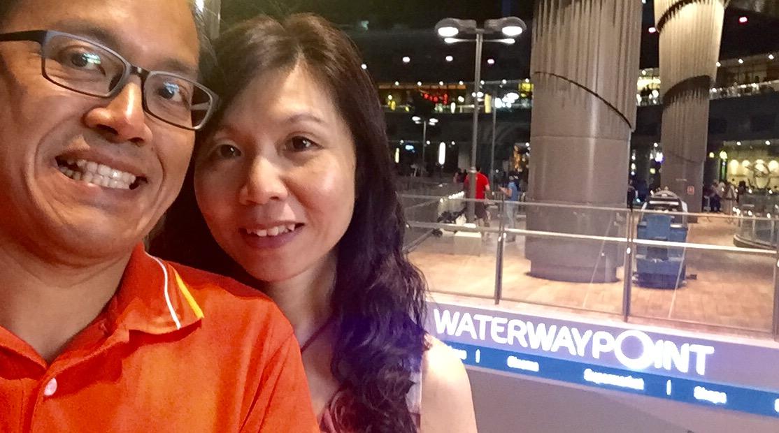 Waterway Point Shopping Mall at Punggol Singapore