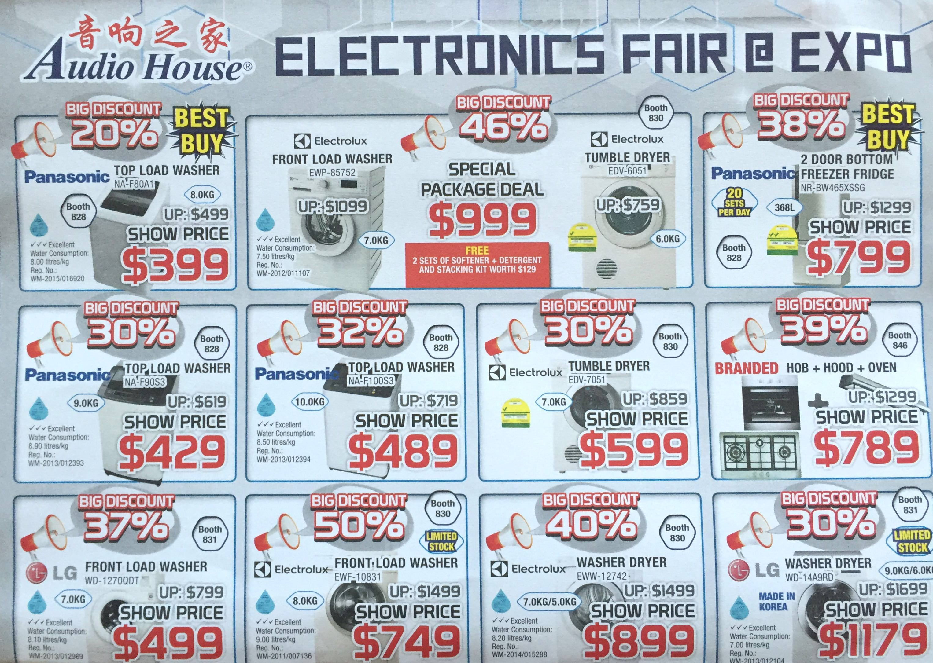 Electronics Fair @ EXPO | 8 - 10 January 2016 | by Audio House | pg4