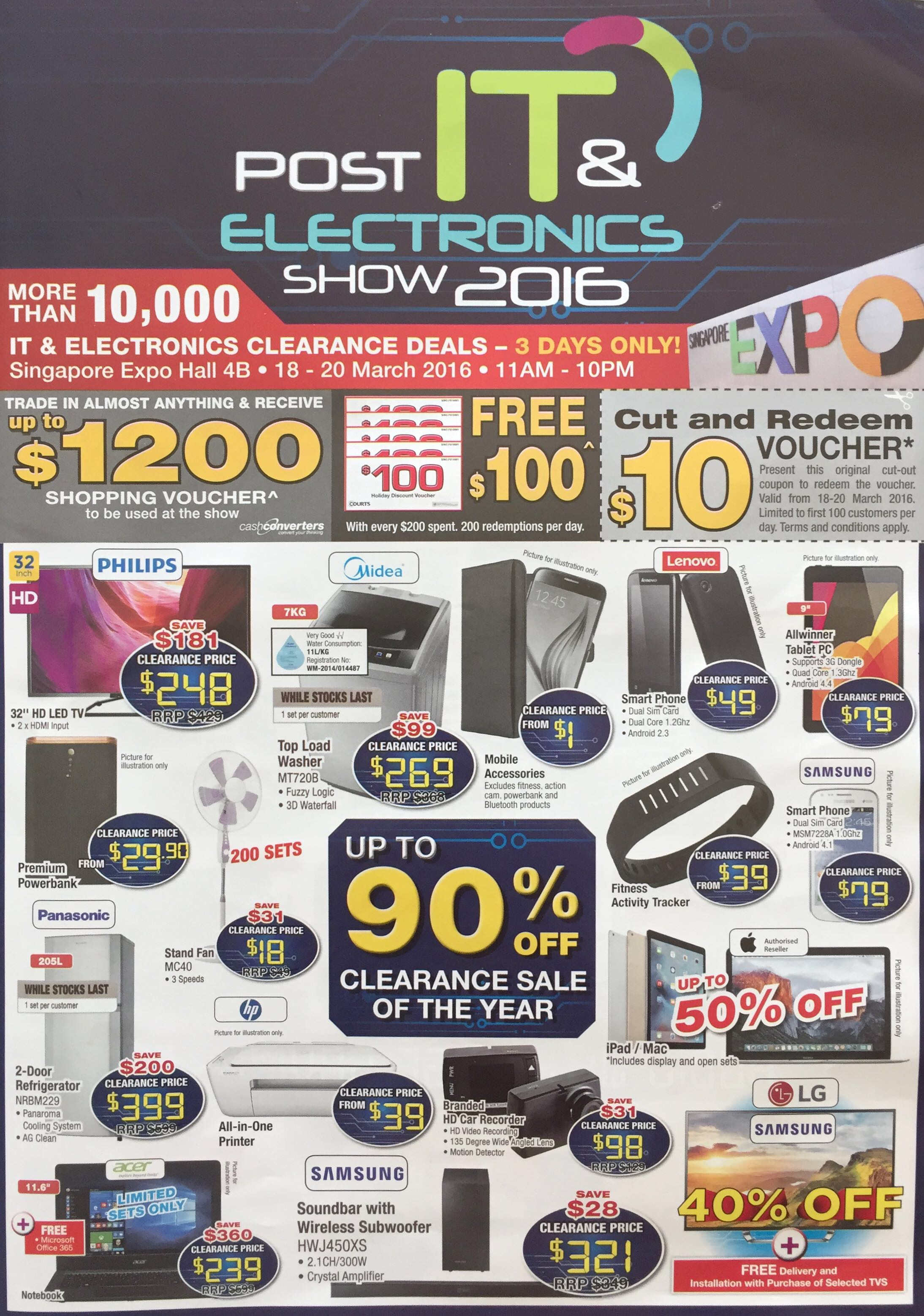 Post IT & Electronics Show 2016 | SINGAPORE Expo | 18-20 March 2016 | Page 1/4