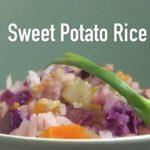 Healthy Purple Sweet Potato Rice Recipe