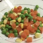 How to Cook Melon Ring with Stir Fried Vegetables