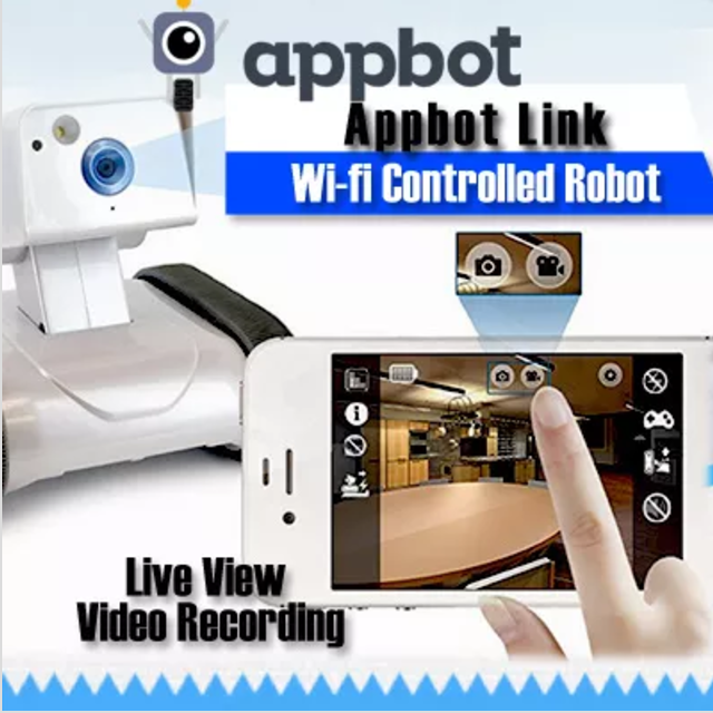Appbot Link App Wi-fi Controlled Robot