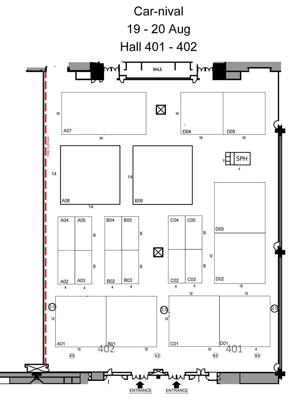 Car Nival 2017 Floor Plan Singapore Car Show Adrian