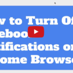 How to Turn Off Facebook Notifications on Chrome Browser