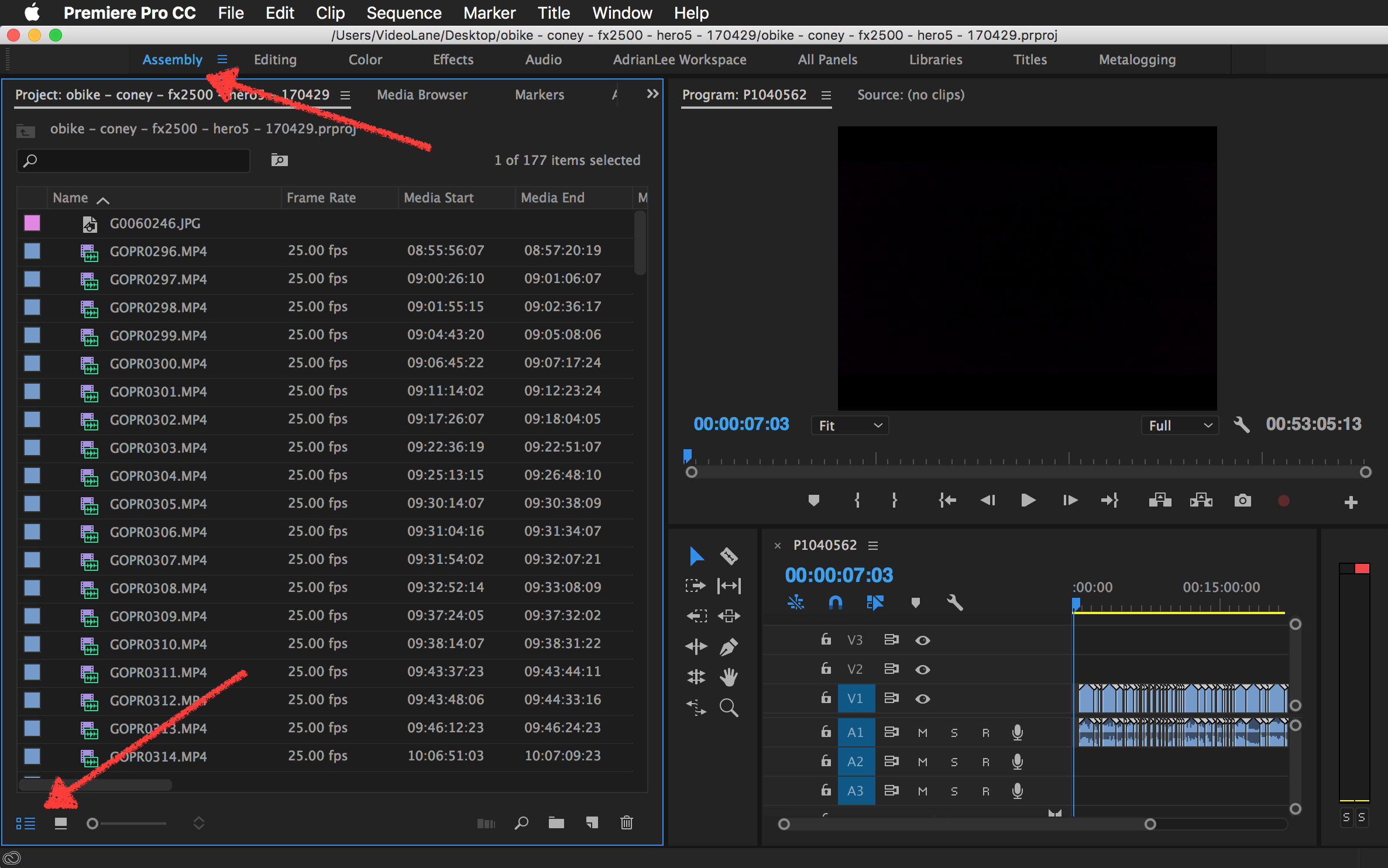 Sort Bin by Creation Date in Premiere Pro.png