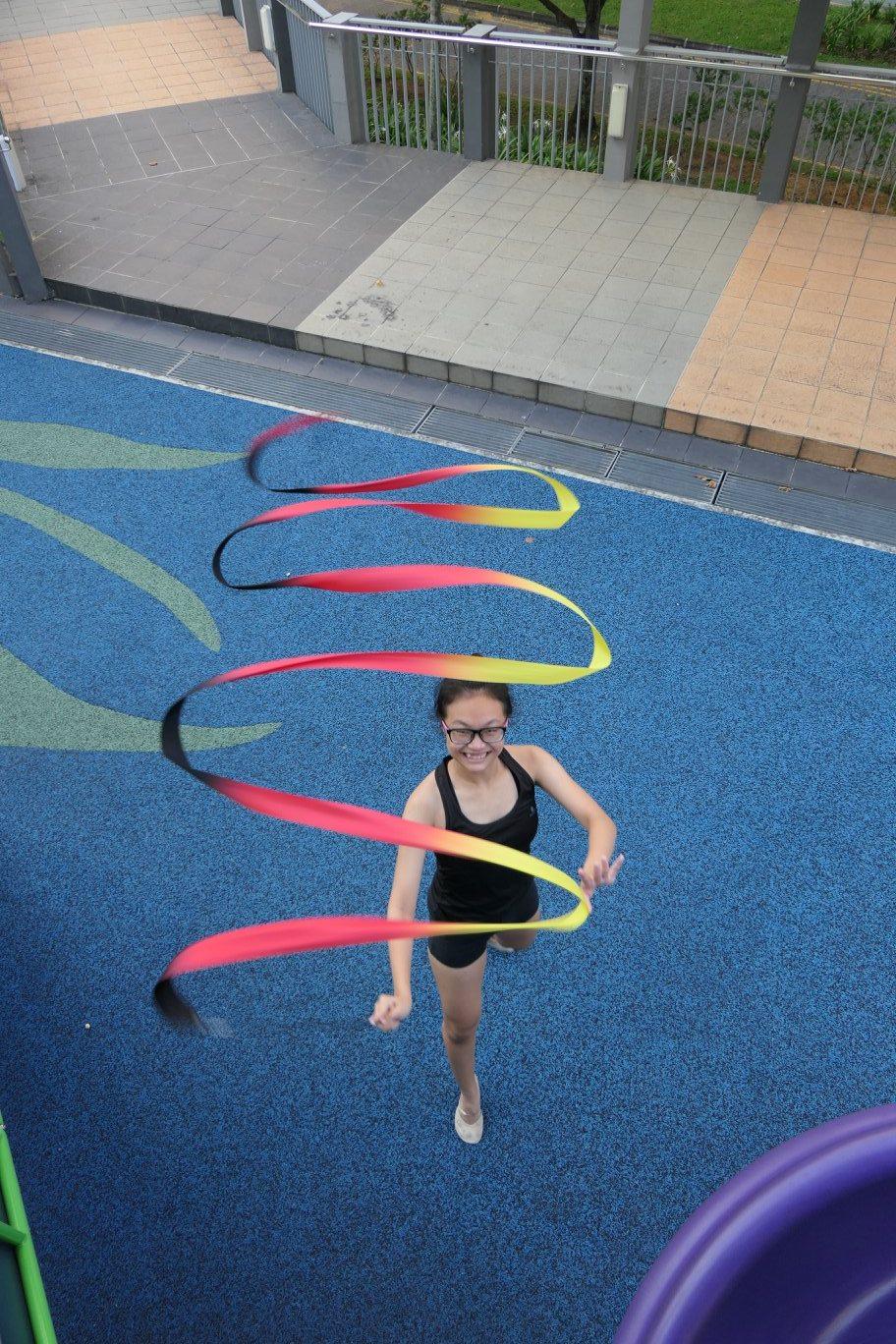 Singapore Rhythmic Gymnast Phoebe Lee
