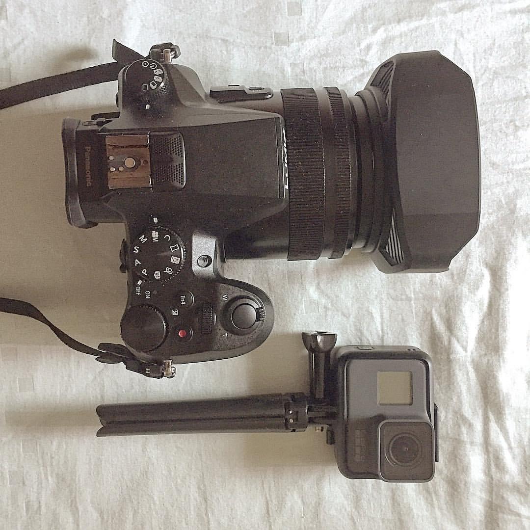 The Panasonic LUMIX FZ2500 and the GoPro Hero5 Black