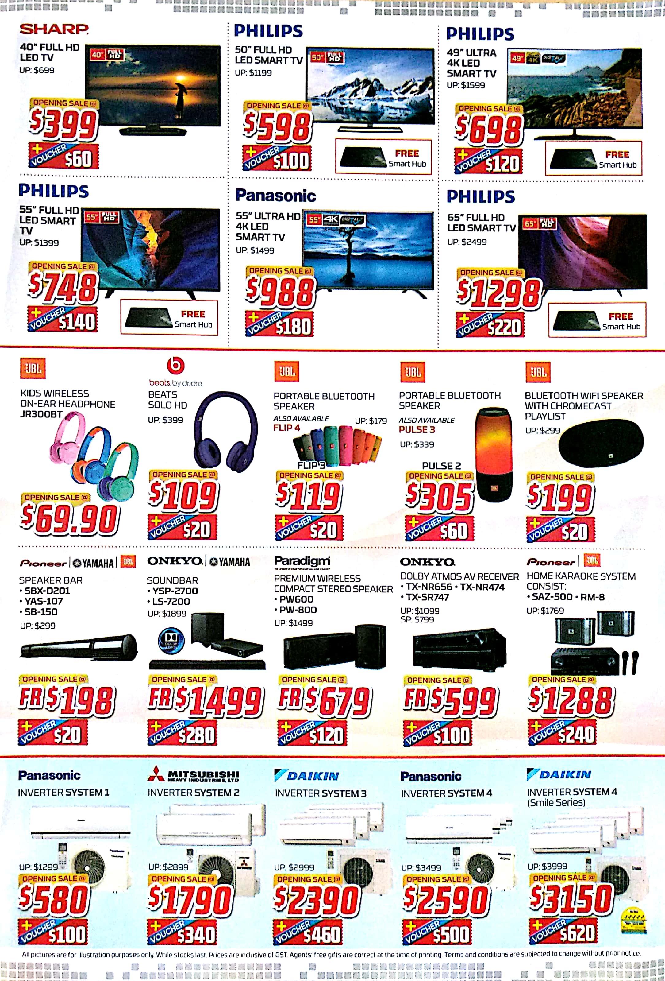 1st QR Cashless Elecrtronics Outlet Opening Sale | 25 Nov - 4 Dec 2017 | Audio House | Brochure pg3
