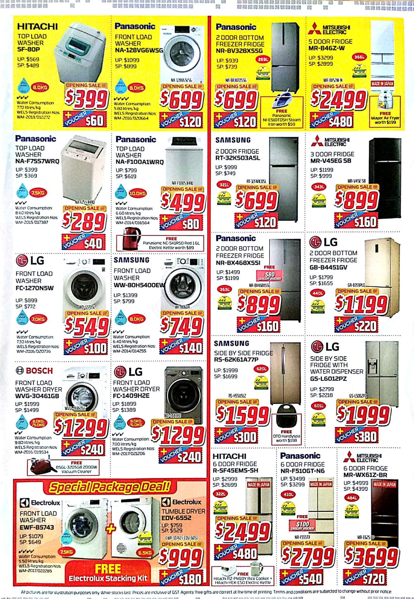 1st QR Cashless Elecrtronics Outlet Opening Sale | 25 Nov - 4 Dec 2017 | Audio House | Brochure pg5