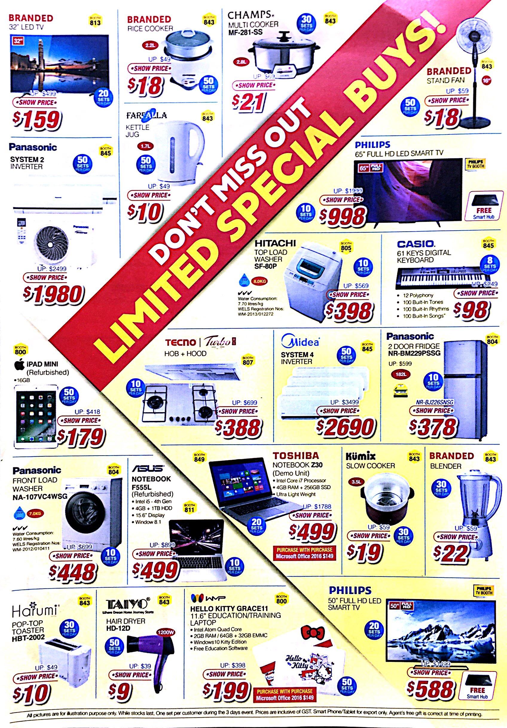 Consumer Electronics Expo 2017 | 20-22 Oct | Singapore expo | pg4