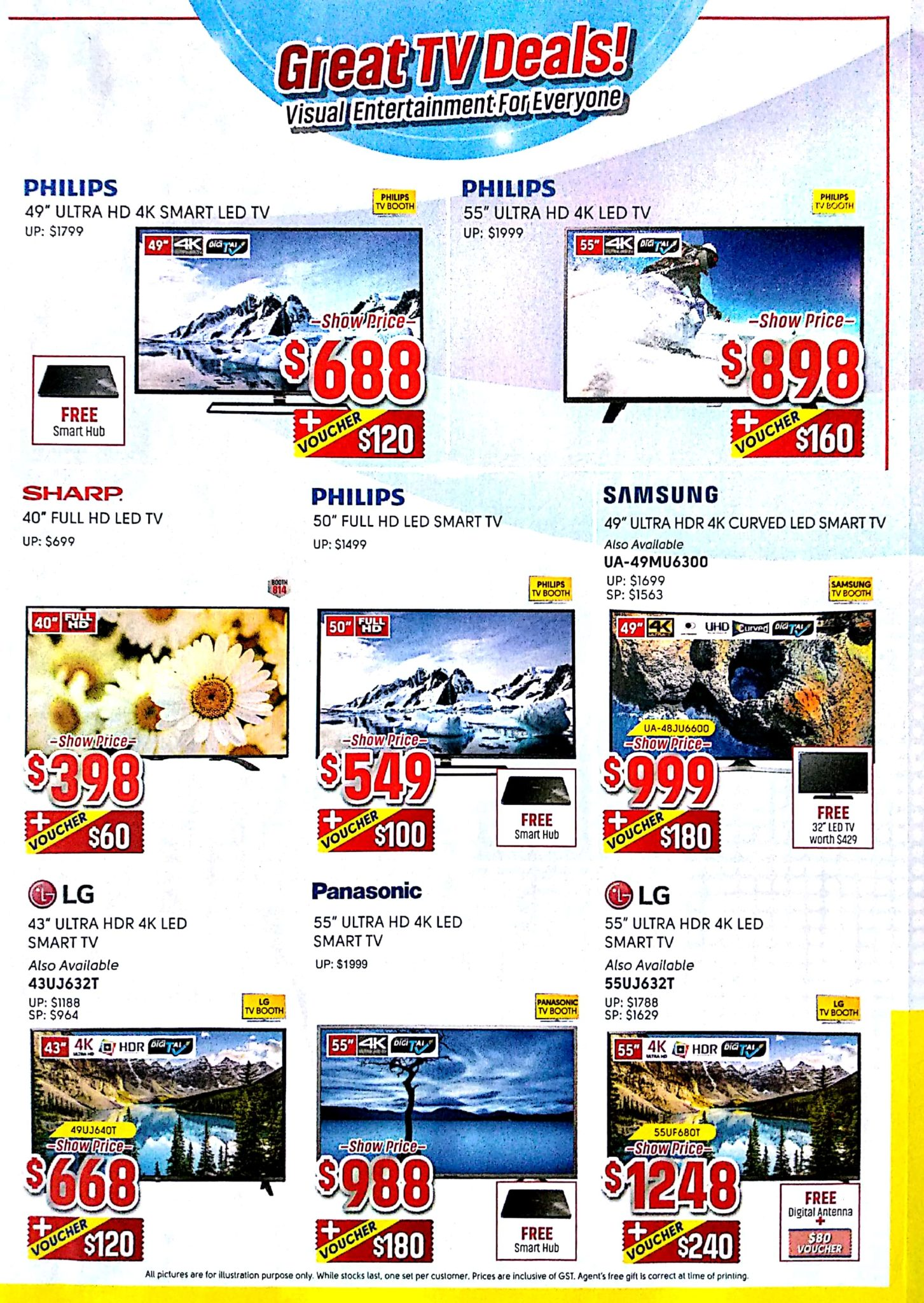 Great Electronics EXPO 2017 | 8 - 10 Dec 2017 | 11am - 9pm | Singapore EXPO | Brochure pg4