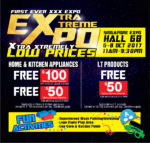 Harvey Norman Extra Extreme Expo | 6 - 8 October 2017 | 11am - 9.30pm | Singapore Expo Hall 6