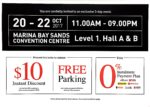 MBS Branded Factory Outlet | 20 to 22 October 2017 | 11am to 9pm | Marina Bay Sands Convention Centre Level 1 Hall A and B| pg2