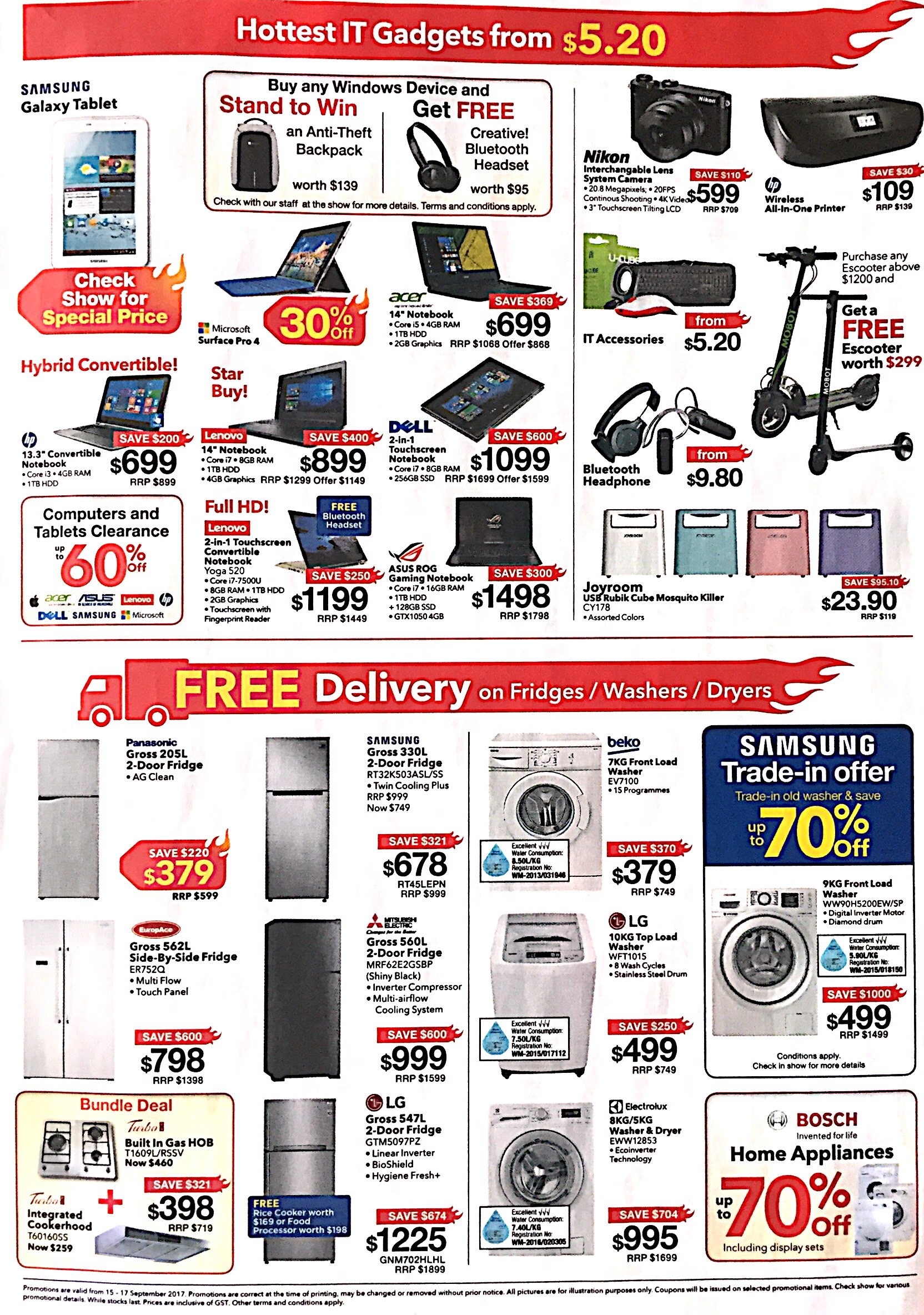 Gadgets, Home Electronics and Appliances Expo   15-17 Sept 2017   pg3