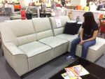 Yes. It's an L-shape sofa on sale at S$499.