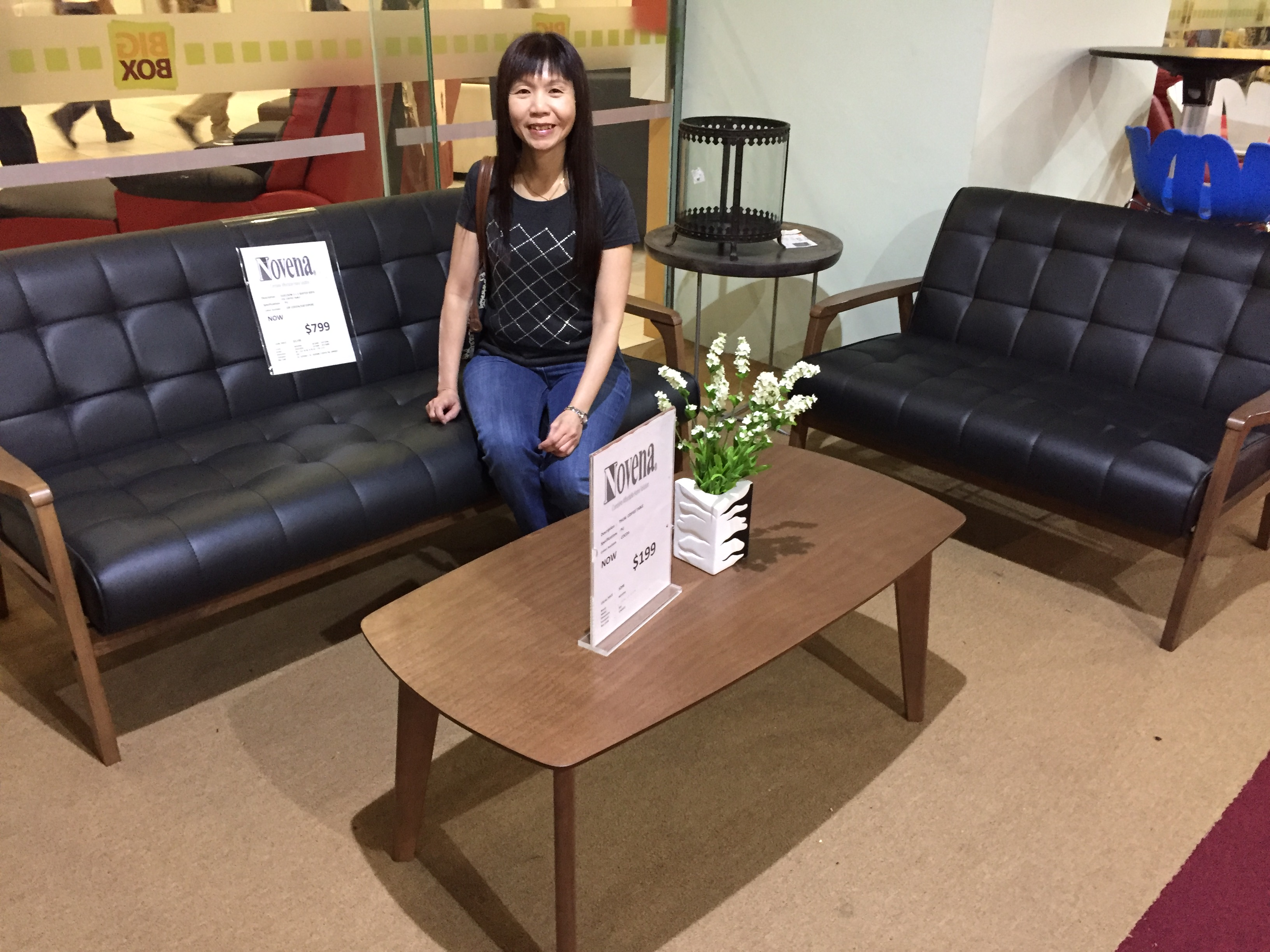 S$799 is for a 3-seater, a 2-seater, and a coffee table.