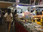 Nearly every food vendor is speaking Chinese.