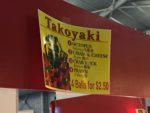 Phoebe ordered takoyaki.