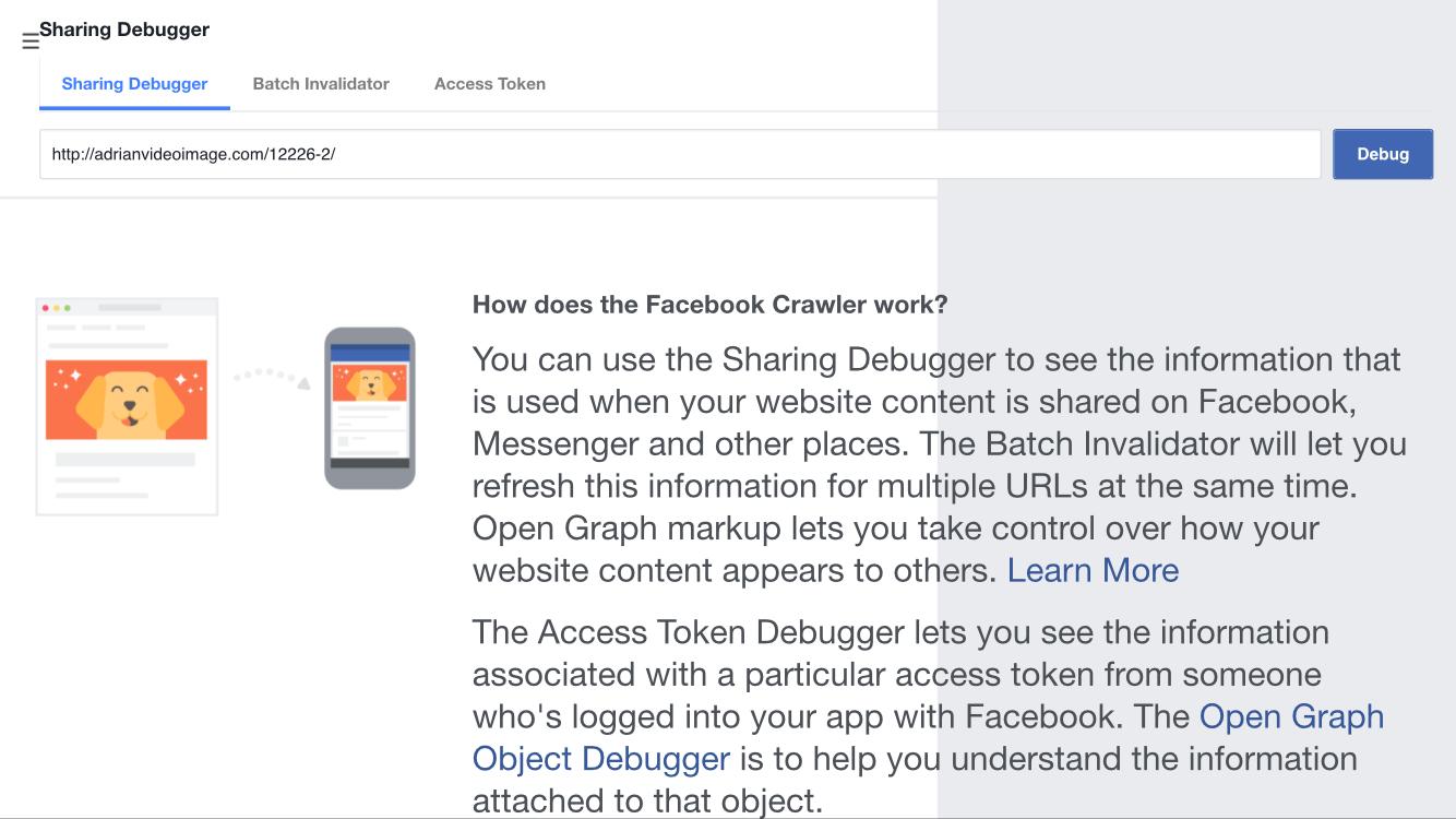 Step 2: Enter blog post URL