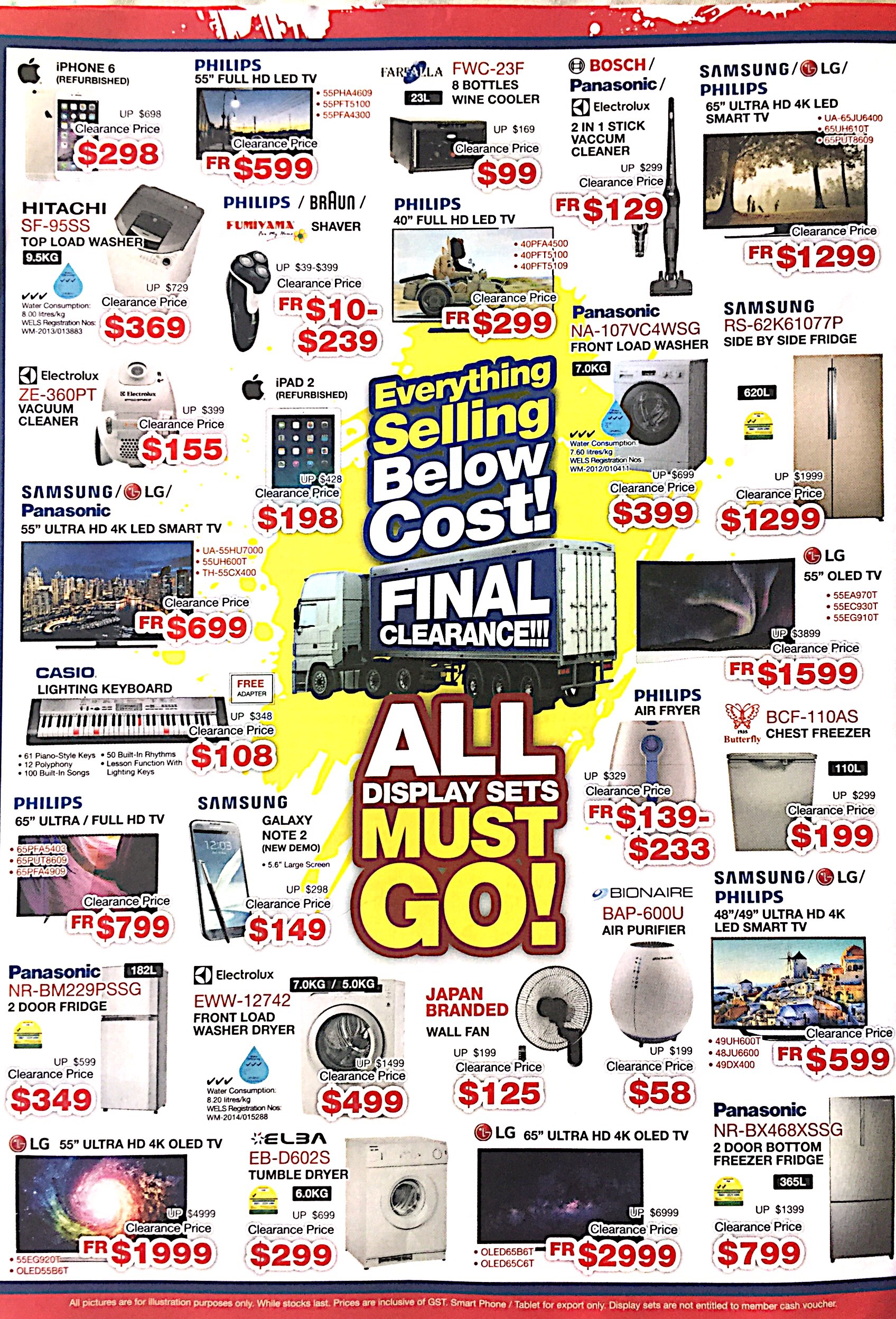 Warehouse Stock Clearance @ Audio House | 9-26 Sept 2017 | pg4